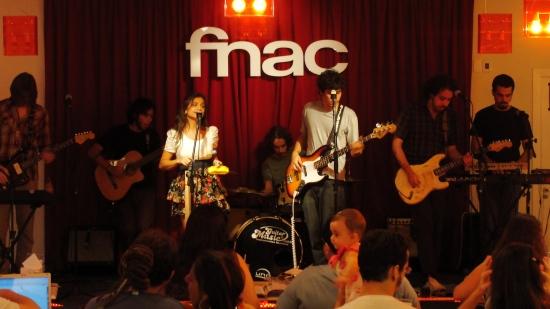 Cabana Café na Fnac no Groselha Sessions. Foto: Varal Diverso