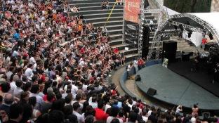 Teatro de Arena recebeu a última edição da Virada Cultural Paulista, em 2011
