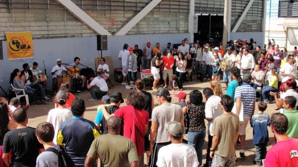 Primeira edição do Se Vira Ribeirão, em 2012, no Mercadão Municipal